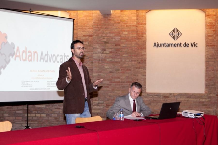 Sessió formativa sobre responsabilitat dels administradors de societats mercantils.